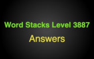 Word Stacks Level 3887 Answers