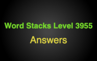 Word Stacks Level 3955 Answers